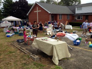 After a rainy start, last year's PEP Yard Sale turned out to be a great event!